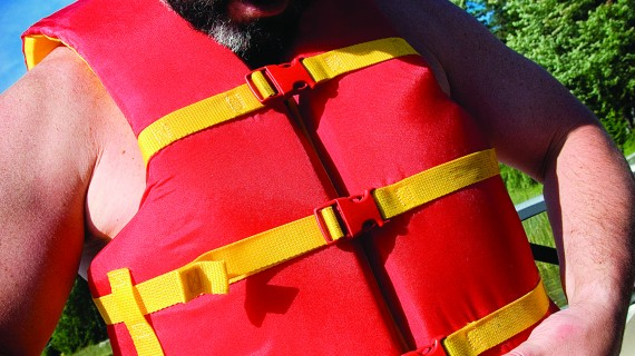 A Lifejacket Only Works if Your Wear It