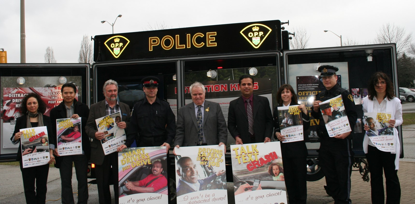 Distracted Driving Awareness Campaign launched in Brampton