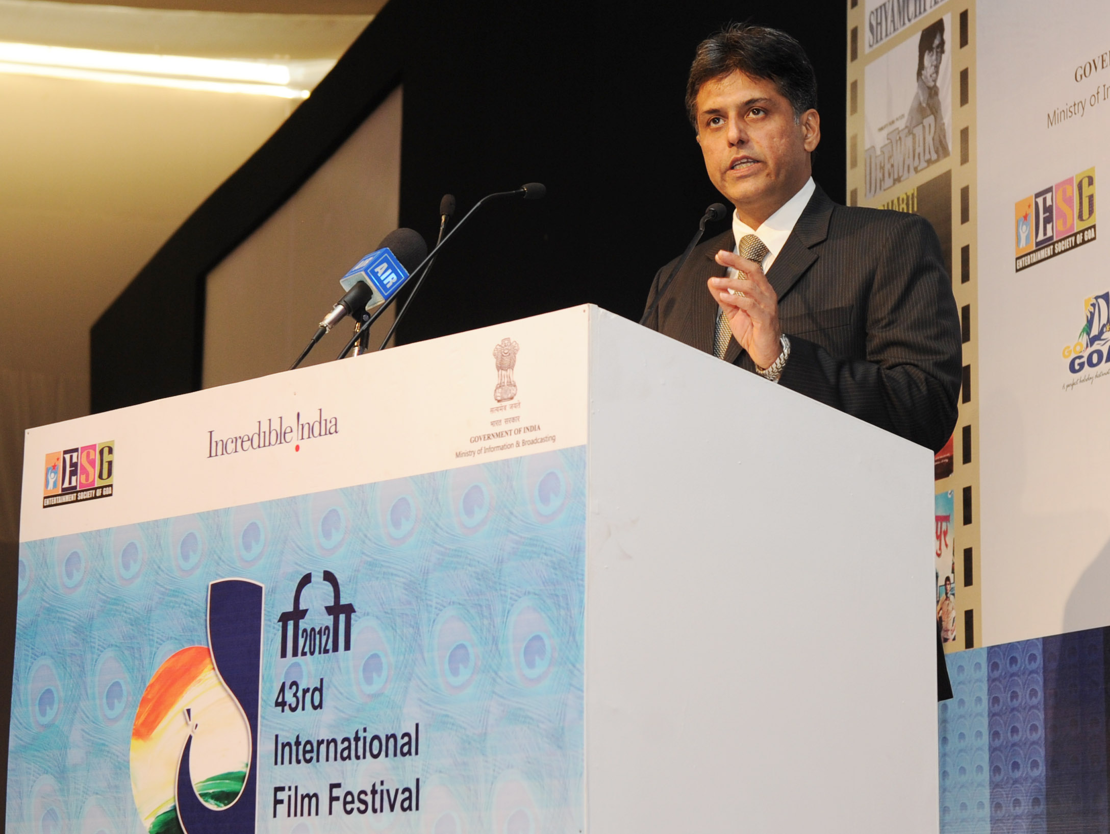 Cinema should be used for larger good of its audience: Manish Tewari