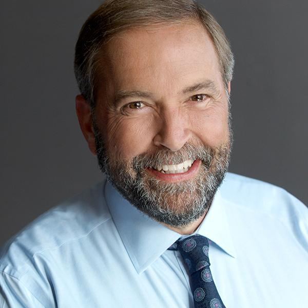NDP leader Tom Mulcair brings his Campaign for Change to Montreal