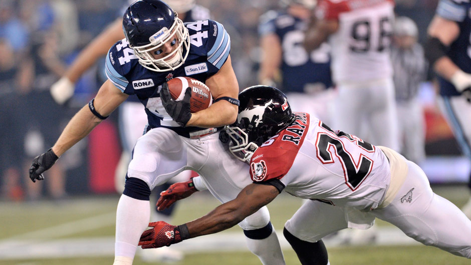 Argonauts corral Stampeders for Grey Cup on home turf