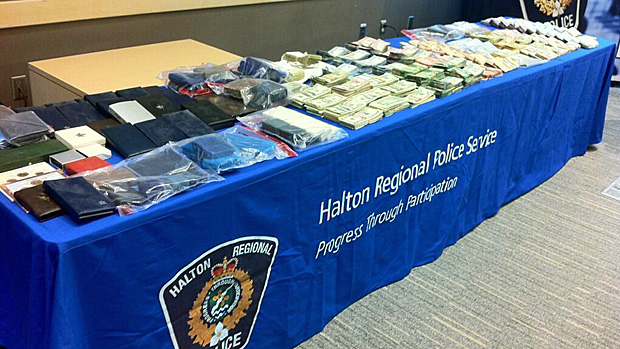 5 arrested in Burlington after 'sophisticated' bank break-in
