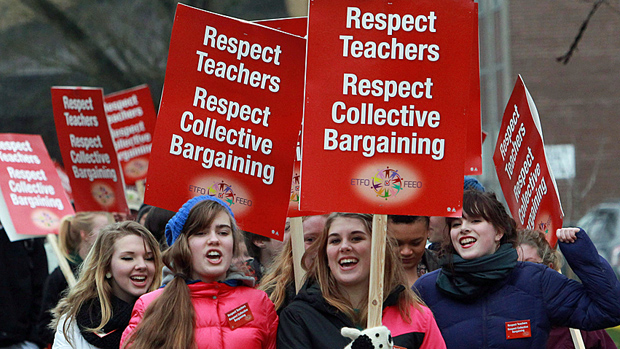Ontario teachers expand strikes to 3 new districts
