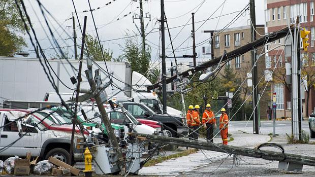 Insured storm losses top $1B in 2012