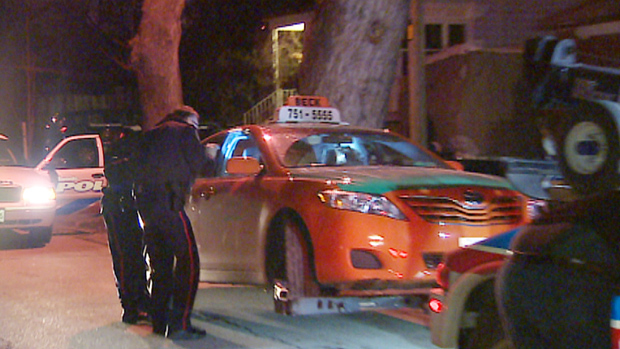 Taxi driver calls for more protection after knife attack