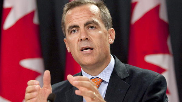 Mark Carney named Bank of England governor